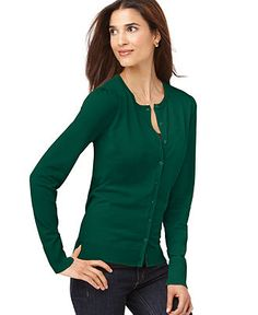 August Silk Sweater, Long Sleeve Silk-Blend Cardigan - Womens - Macy's
