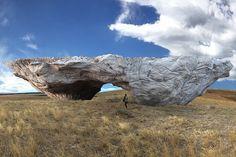ensamble studio structures of landscape Tippet, Montana