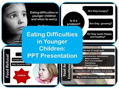 A short presentation for information or training which explores the common eating difficulties seen in younger children along with guidance as to when we should be concerned.