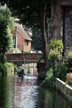 River Stour, Canterbury, England