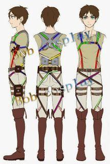 Shining Kiss Cosplay: System Belts - Shingeki No Kyojin.