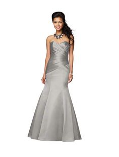 Maid of Honor  Alfred Angelo 7168 Bridesmaid Dress | Weddington Way