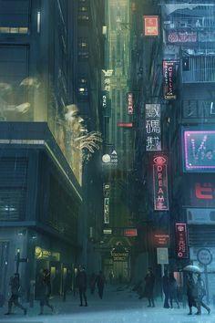 Cyberpunk City - Album on Imgur
