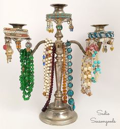 Once you see what Sarah from Sadie Seasongoods did with her Thrift Store Candelabra you will never pass on another one! I am loving this Jewelry Tree and I think you will too! CHECK IT OUT!