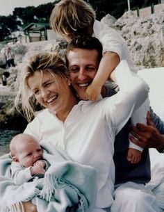 The Schumacher Clan Michael Schumacher, Mick Schumacher, Wonder Man, F1 Drivers, F 1, Formula One, Father And Son, Best Mom, Ferrari