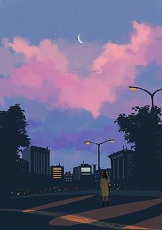 Ideas For Anime Art Fondos Aesthetic Anime, Aesthetic Art, Aesthetic Pictures, Vaporwave Wallpaper, Aesthetic Iphone Wallpaper, Aesthetic Wallpapers, Ocean Wallpaper, Scenery Wallpaper, Couple Wallpaper