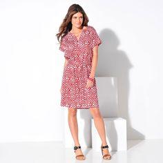 Robe forme tunique imprimée  : Vue 2