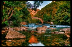 Kleidonia Bridge, Konitsa, Ioannina, Epirus, Greece ✯ ωнιмѕу ѕαη∂у