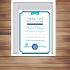 free vector certificate templates Design Download
