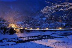 Adjoining Bridge|白川郷- Jason Arney Photography