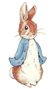 peter rabbit. My mom had my baby room inspired by Peter Rabbit