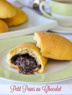 These classic French breakfast pastries with a centre of soft chocolate ganache are not as difficult as you may think to prepare and can even be made in advance. Food Network Tv Shows, Food Network Recipes, Cooker Recipes, Crockpot Recipes, Chicken Recipes, Bakery Recipes, Dessert Recipes, Cooking Channel Shows, Food Dishes