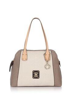 Guess Mellie Dome Satchel Bag   Femmes - Sacs - Sacs à bandoulière Sac Porté  Épaule 848b0c72b56