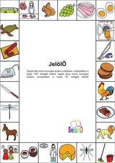 Saját feladatlapok :: Beszelo Special Needs, Speech Therapy, Special Education, Kids Learning, Preschool, Teaching, Logos, Children, Fun