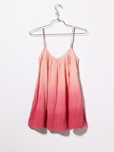 Strappy Gauze Dress