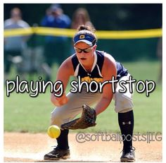 short stop is my favorite position of all time #shortstop #love #softball
