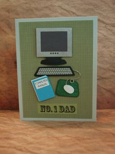 Fathers Day card, For the IT, Computer Tech, Dad, Uncle, Godfather, Brother, Hello, Friend, any occasion