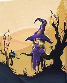 Art 'Purple Witch' - by Nico Niemi from witches