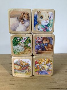 The Velveteen Rabbit Blocks // Childrens Book by StorybookBlocks