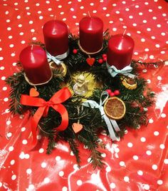 Advent wreath Adventní věnec