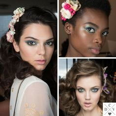 DVF hair (by Orlando Pita) and beauty (by Pat McGrath)! #NYFW