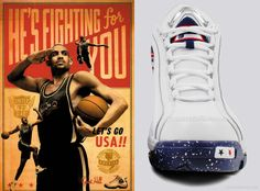 """Fila '96 """"Olympic"""" featuring Grant Hill"""
