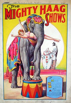 This is one of the many incredible posters at the Circus World Museum's Research Library in Baraboo, Wisconsin.