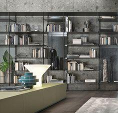 Rimadesio Wind Bookcase