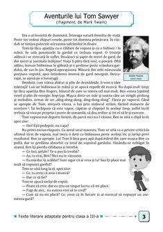 Clasa a III-a : Lecturi şi fişe de lectură. Clasa a III-a Mark Twain, Words, School, Schools, Horse