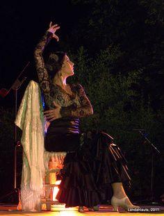 Flamenco en la Huerta de San Vicente #PhotoLanda #granada #andalusia