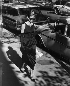 Audrey Hepburn in Breakfast at Tiffany's - she was pure elegance