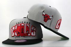 NBA Chicago Bulls New Era 9FIFTY Snapback Gray Rift