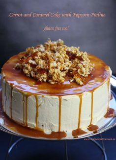"""Carrot and Caramel Cake   """"These Look Absolutely Amazing Yummy and Delicious!"""""""