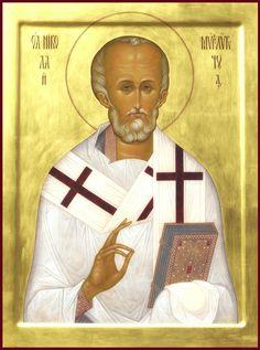 Αγ.Νικολαος Αρχιεπισκοπος Μυρων Της Λυκιας, Ο Θαυματουργος (; - 330)___dec 6
