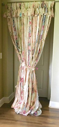 A personal favorite from my Etsy shop https://www.etsy.com/listing/464305809/shabby-romantic-curtains