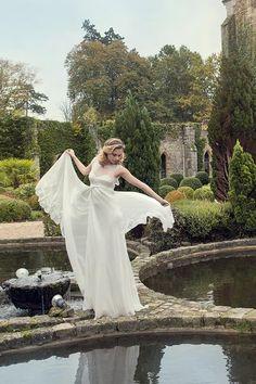 robe de mariée créateur Paris et Lyon - Martine