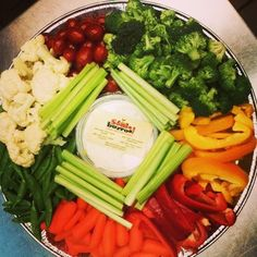 Someburros delicious, healthy veggie platters! Perfect for when you have to bring something healthy to school! Available in Chandler, Gilbert, Tempe and Scottsdale stores ---->http://someburros.com
