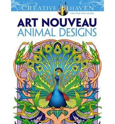 These 31 elegant designs were adapted from the works of Verneuil, Mucha, and other Art Nouveau masters. The appealing illustrations feature patterns inspired by swans, peacocks, butterflies, and other creatures. Previously published as