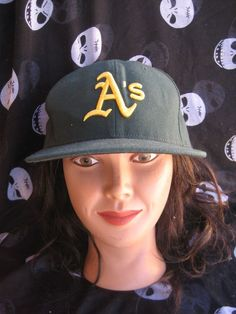158666a9a48 oakland a s athletics vintage new era on field baseball hat size 7 1 2 usa