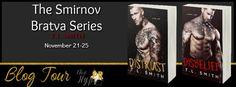Whispered Thoughts: Blog Tour: Smirnov Bratva Series by TL Smith