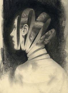 Miles Johnston #illustration #graphite