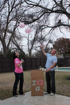 gender reveal idea @Michelle Flynn Burdo
