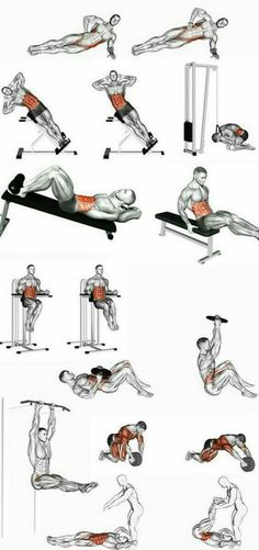 Helpful workout plans that are truly practical for beginners, both men and ladies to get fit. Visit this super fitness workout pin number 5979793846 today. Fitness Workouts, Abs Workout Routines, Weight Training Workouts, At Home Workouts, Interval Training, Best Ab Workout, Gym Workout Tips, Workout Plans, Abdominal Exercises