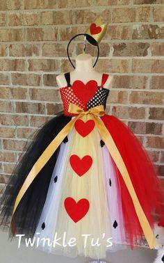 Queen of Hearts Dress Costume