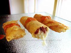 ¡¡Oído cocina!!: Rollitos de masa brick con jamón y queso