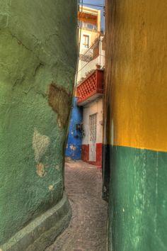 """Guanajuato, Mexico """"El callejón del Beso""""                                                                                                                                                                                 More"""