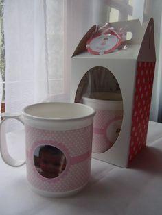 Souvenir taza de princesa personalizada