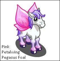 Pink Petalwing Pegasus Foal