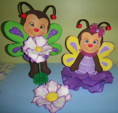 TABLE DECORATION FOR GARDEN OR BUTTERFLY PARTY