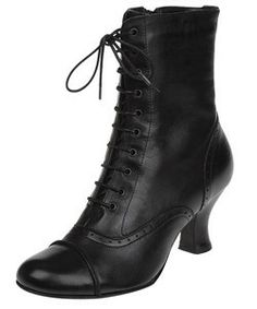 Charlotte's granny boots